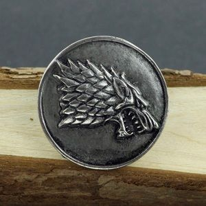 Jewelry - Game of Thrones - House of Stark Brooch